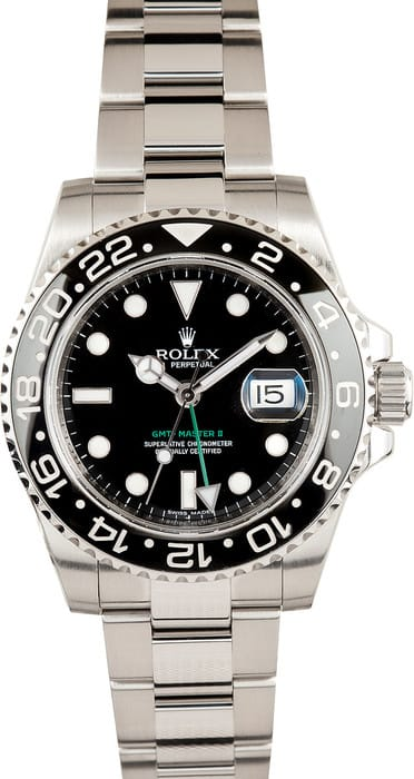 Rolex GMT Master II Mens Automatic Watch 116710BKSO