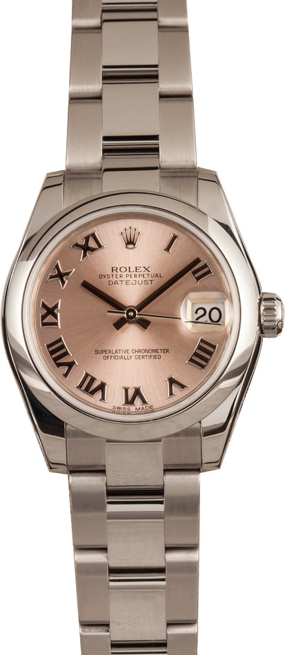 PreOwned Rolex Datejust 178240 Mid-Size