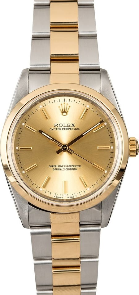 Rolex Oyster Perpetual 14203 Two Tone Oyster
