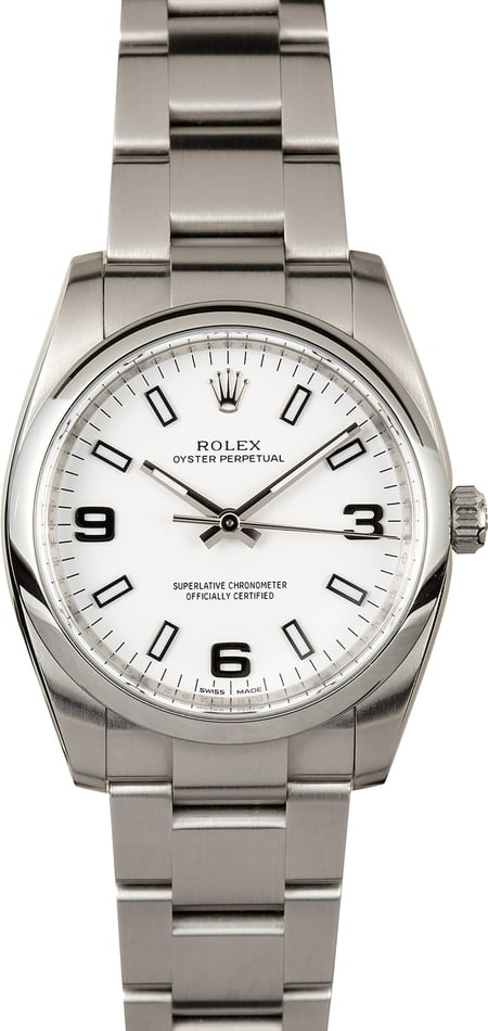 Rolex Oyster Perpetual 114200 Certified Pre-Owned