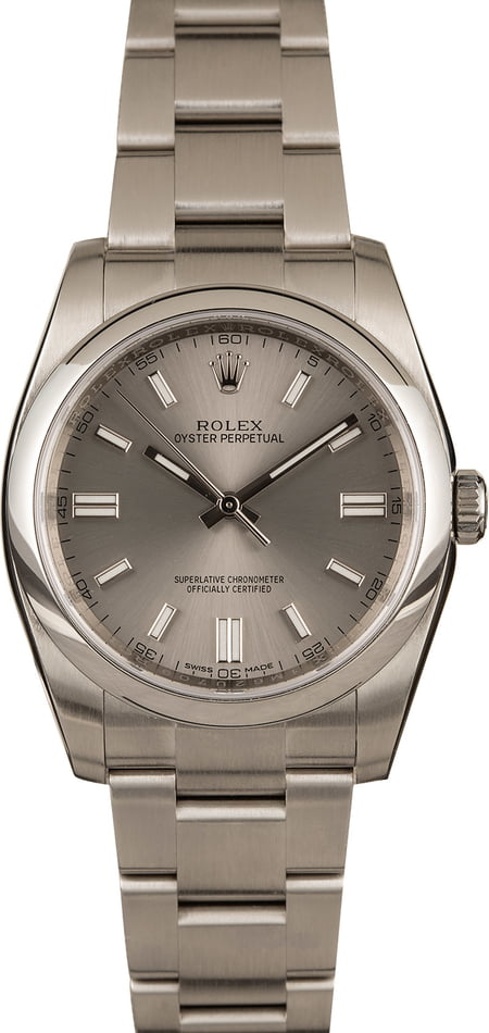 Pre-Owned 36MM Rolex Oyster Perpetual 116000