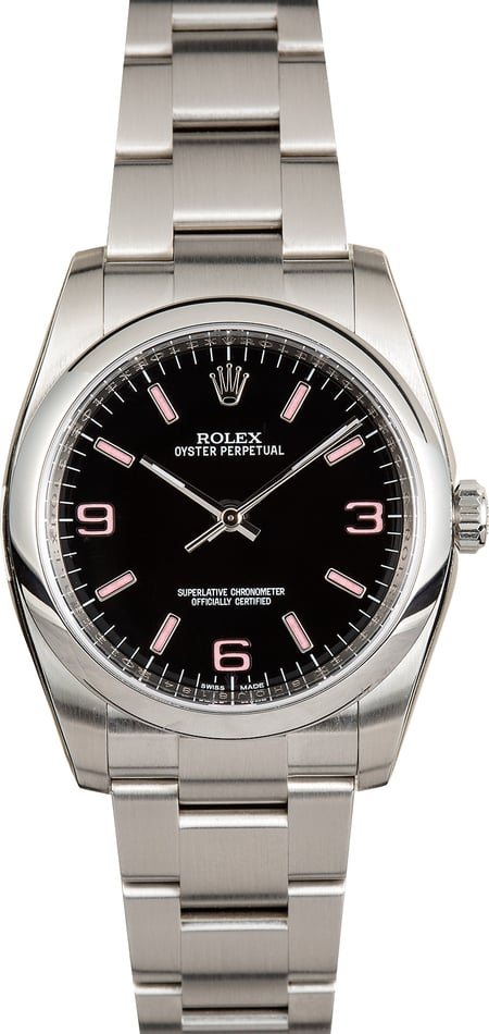 Rolex Oyster Perpetual 116000 Black