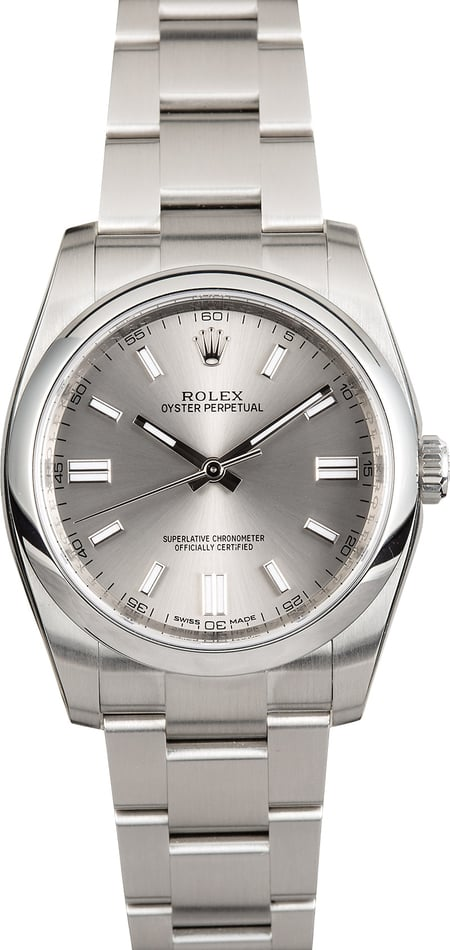 Rolex Oyster Perpetual 116000 Factory Stickers