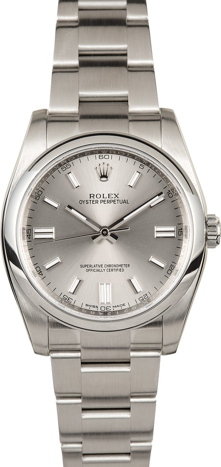Rolex Oyster Perpetual 116000 New Model
