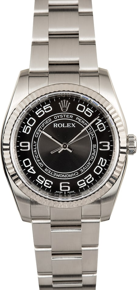 Rolex Oyster Perpetual 116034 Concentric Dial