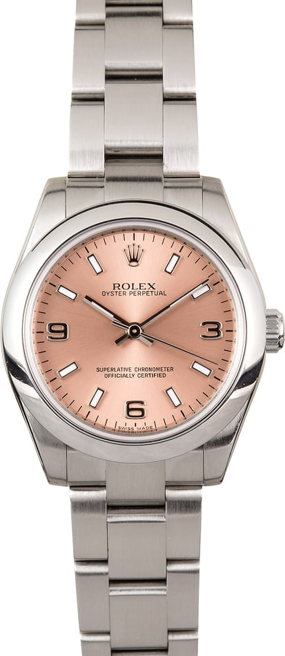 Rolex Oyster Perpetual 31mm 177200 Pink