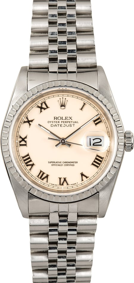 Rolex Oyster Perpetual Datejust 16220 Roman