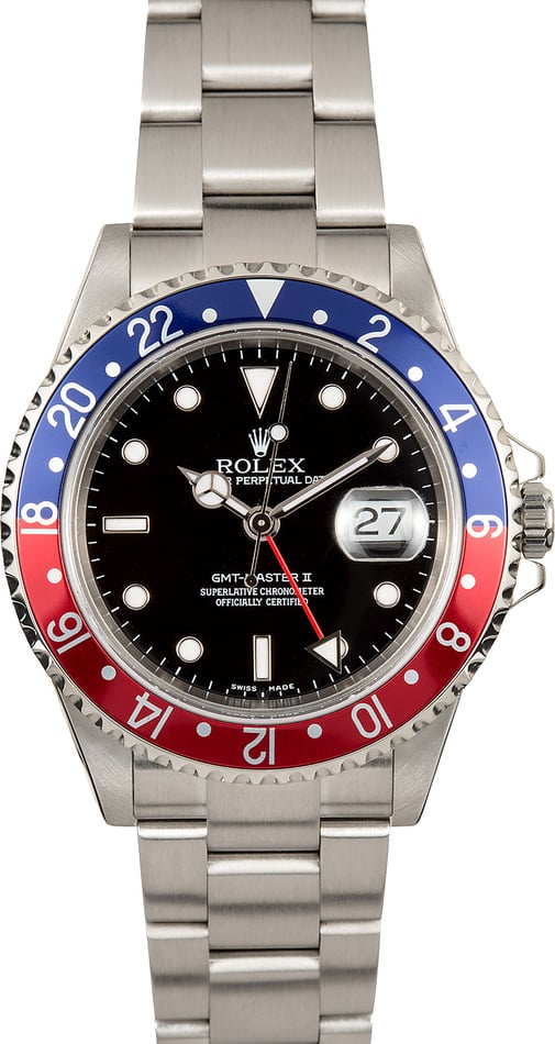Rolex Oyster Perpetual GMT-Master II 16710 Pepsi