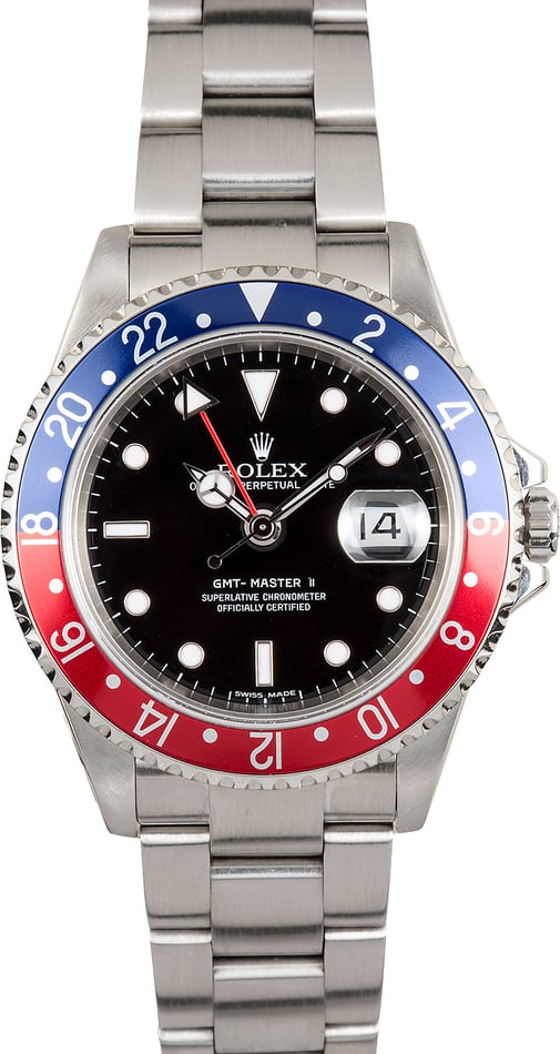 Rolex Oyster Perpetual GMT-Master II 16710 Pepsi Bezel