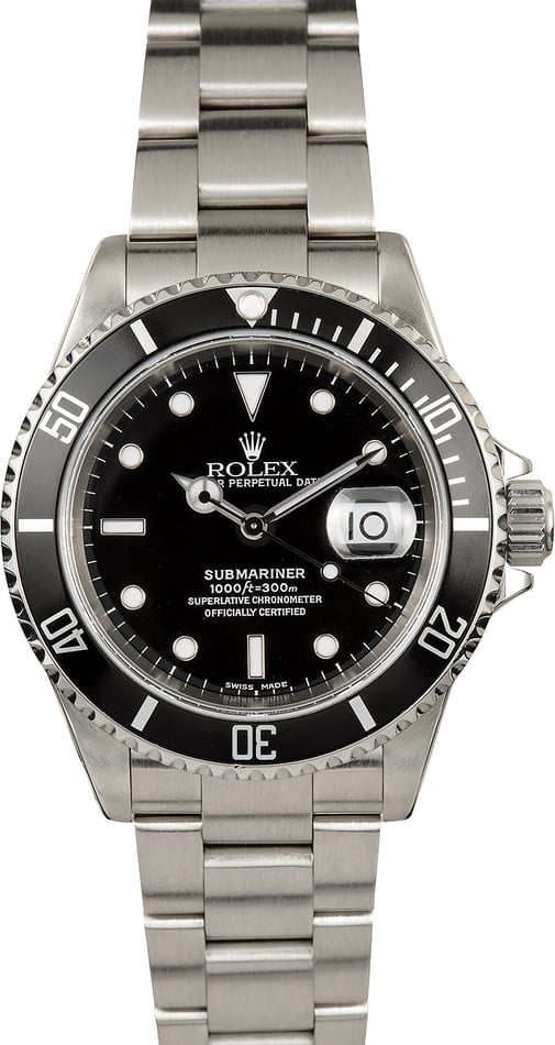 Rolex Oyster Perpetual Submariner 16610 Stainless