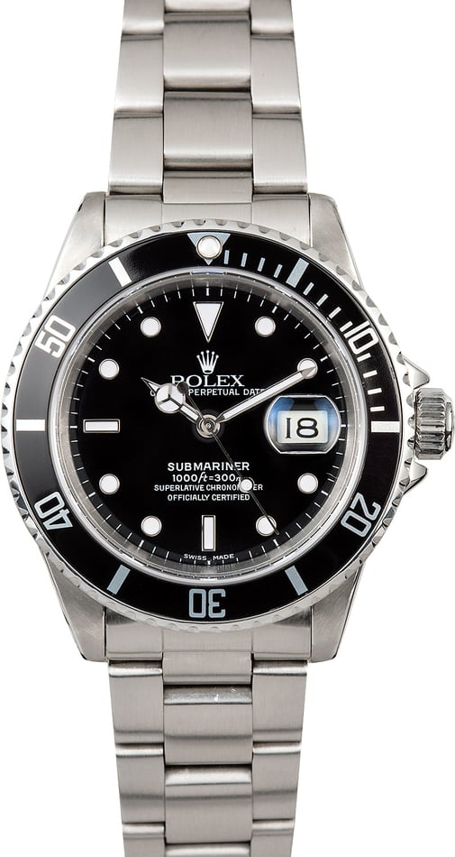 Rolex Oyster Steel 16610 Submariner
