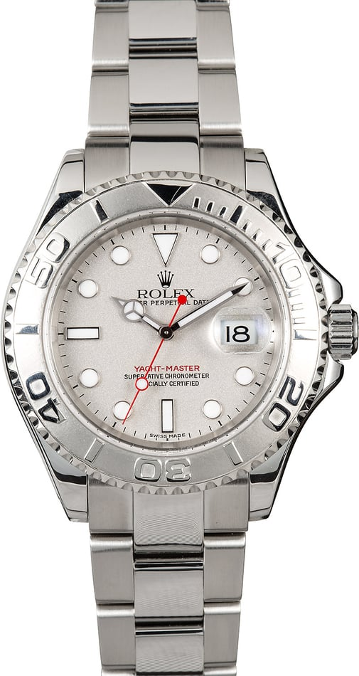Rolex Platinum Yacht-Master 16622 Stainless Oyster