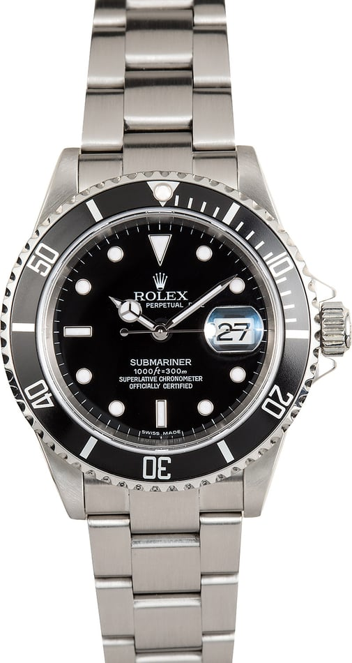 Pre-Owned Men's Rolex Submariner 16610