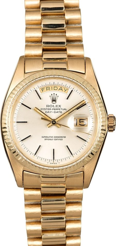 Vintage Men's Rolex Presidential 1803 Day-Date