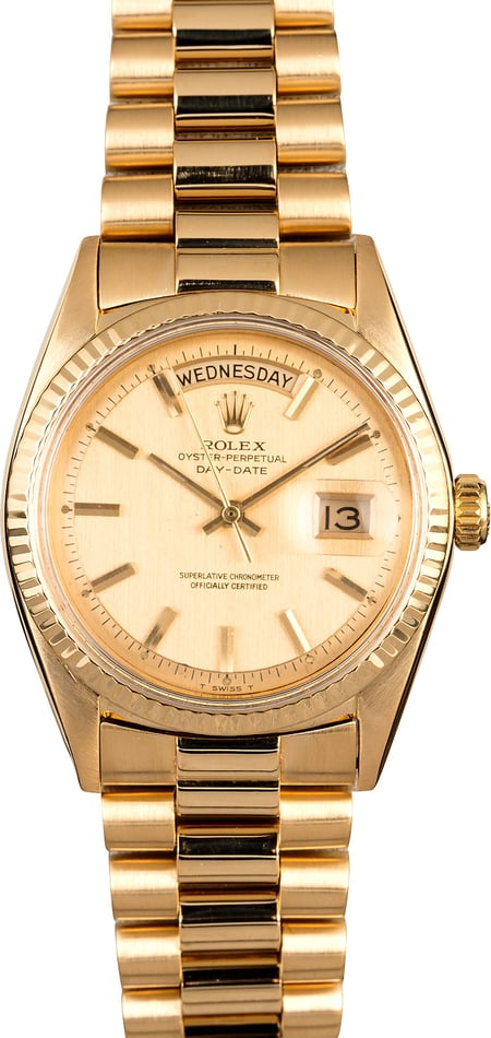 Rolex President Day-Date 1803 Yellow Gold