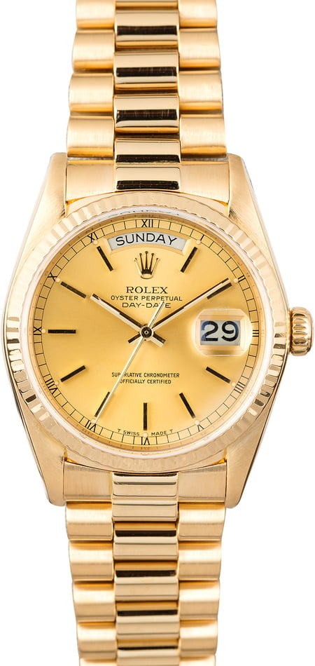 Rolex President 18038 Champagne Dial Day-Date
