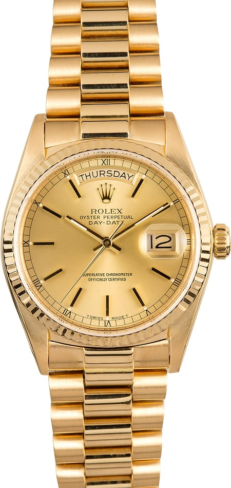 Rolex President 18038 100% Authentic