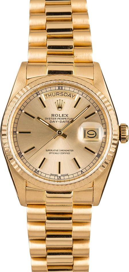 Pre-Owned Rolex Day-Date 18038 President