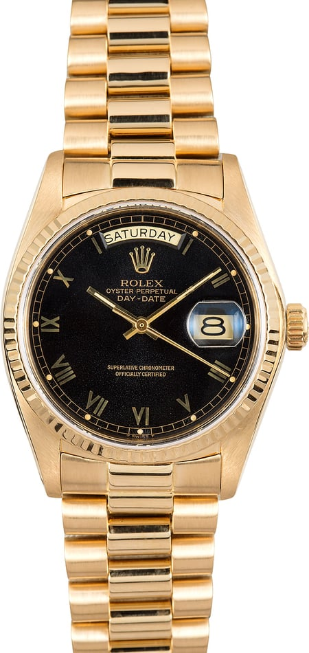 PreOwned Rolex President 18048 Yellow Gold