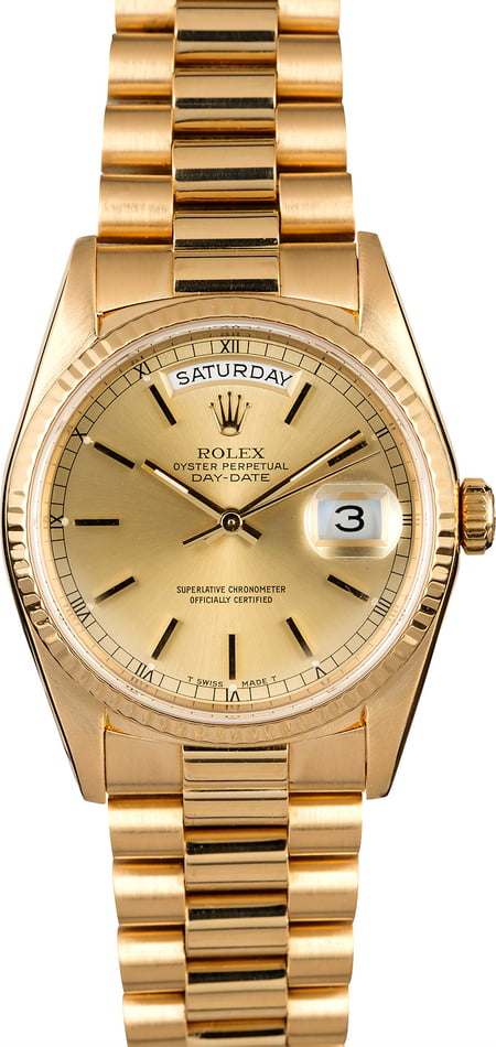 Rolex Day-Date 18208 President
