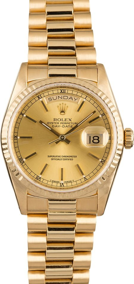 Rolex 18238 Certified Pre Owned