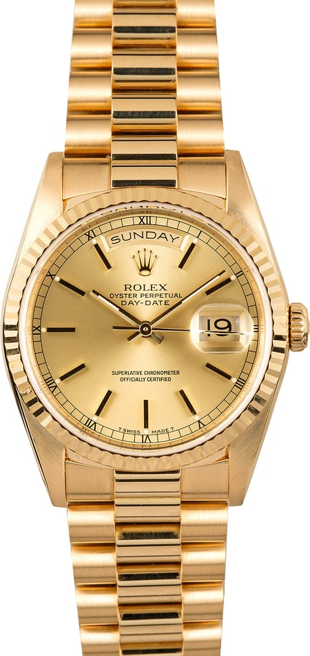 Rolex President 18238 Day-Date