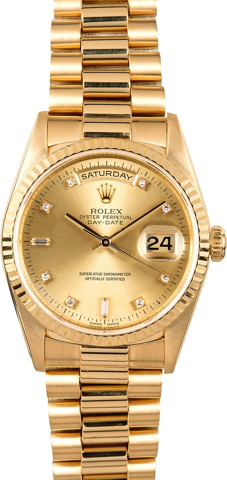 Rolex President 18238 Diamond Day-Date