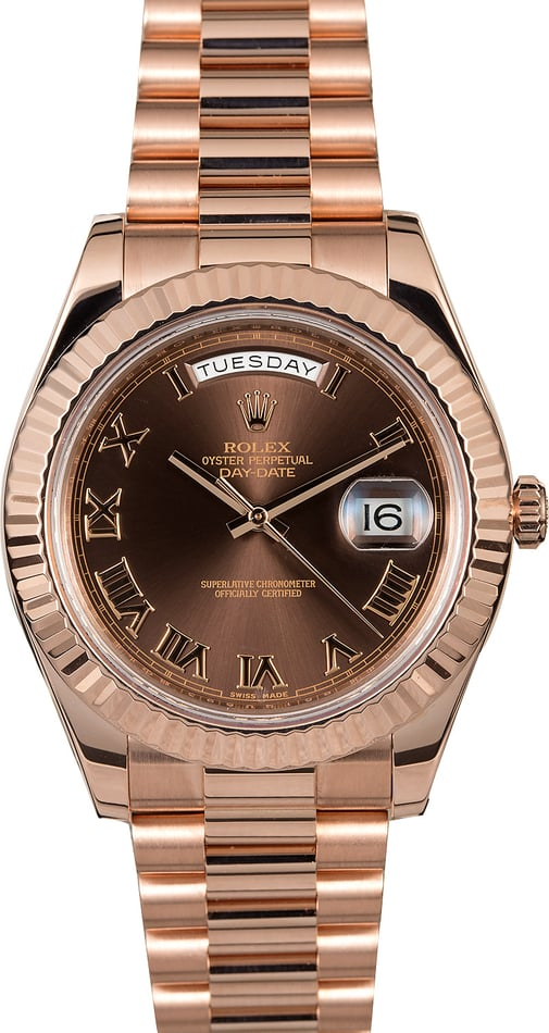 Rolex Day-Date 218235 Everose Gold President