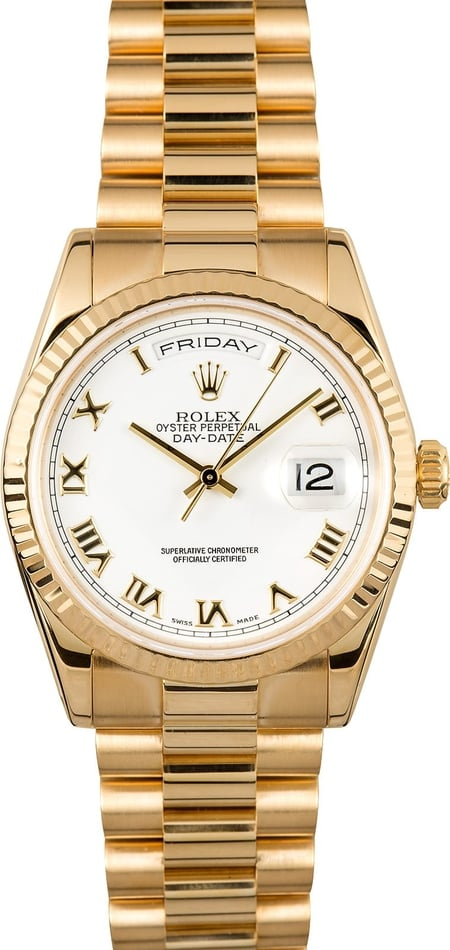Rolex Day-Date 118238 Presidential
