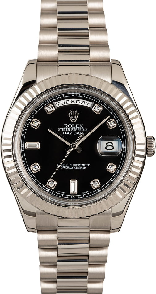 Rolex Day Date White Gold 218239
