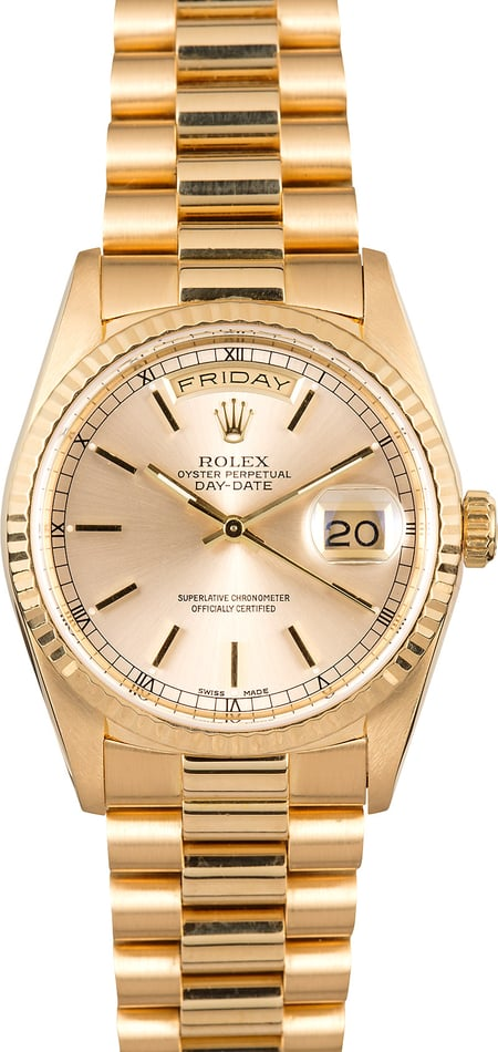 President Rolex Gold Day-Date 18238