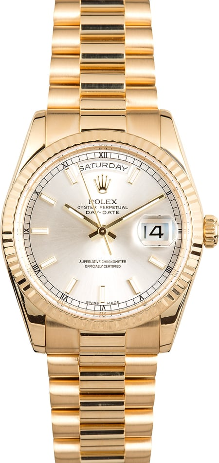 Rolex Presidential Day Date 118238