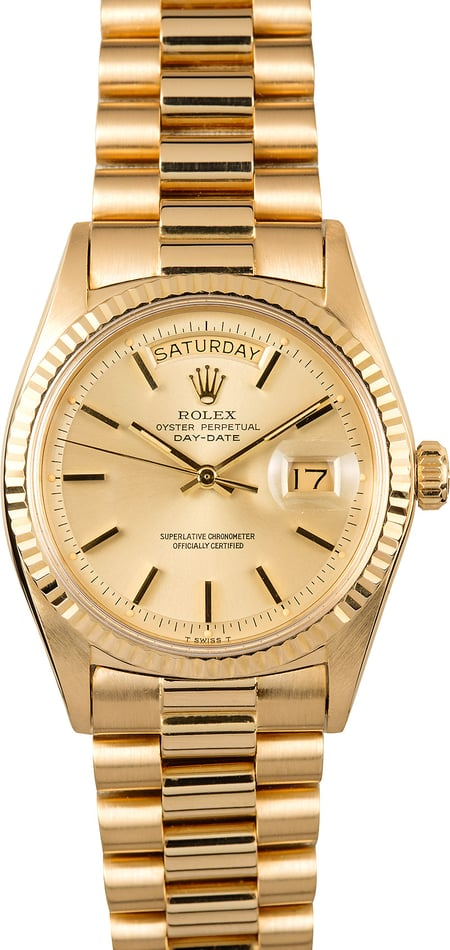 Rolex Presidential Day-Date 1803 Certified Pre-Owned