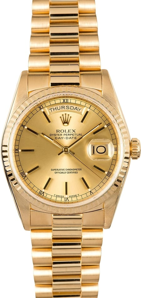 Rolex Presidential Day-Date 18238 Champagne