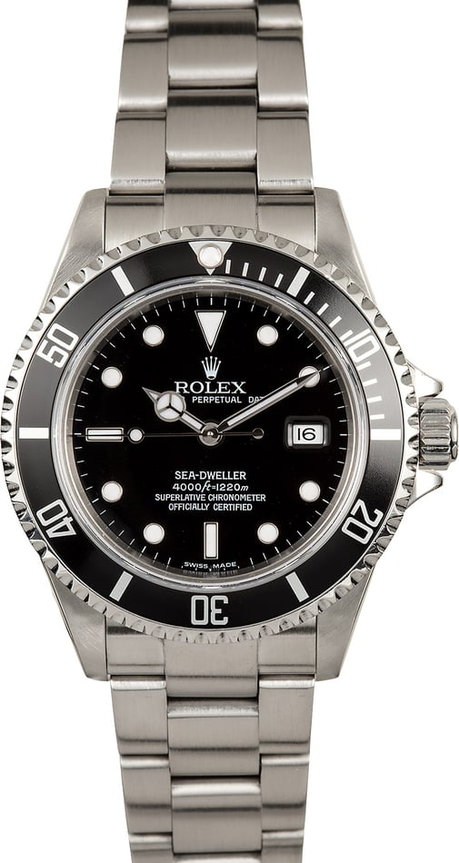 Rolex Sea-Dweller 16600 Stainless Steel Watch