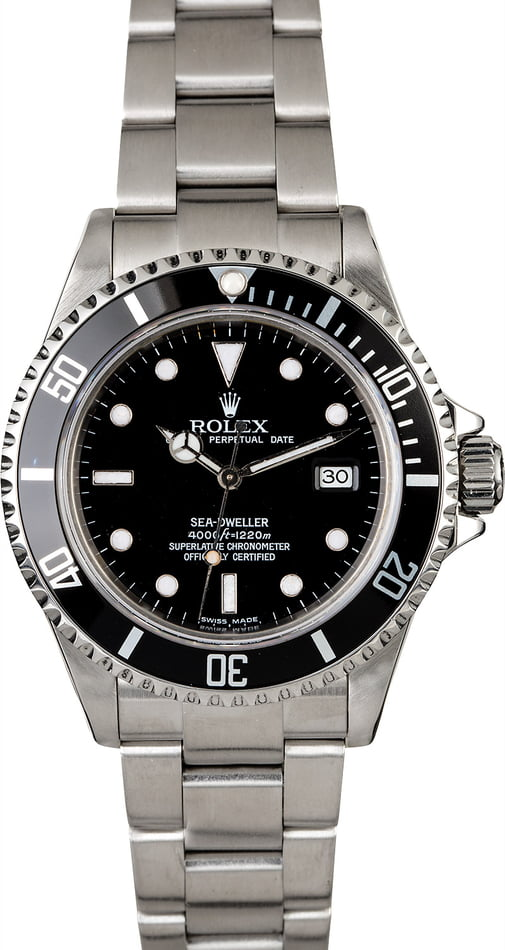 Men's Rolex Sea-Dweller 16660 Diver's Watch