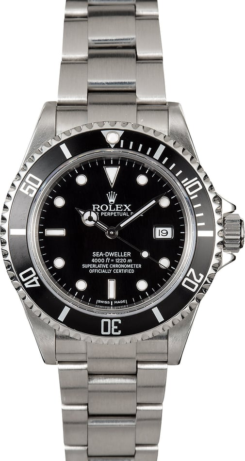 Rolex Sea-Dweller Diver's Watch 16600