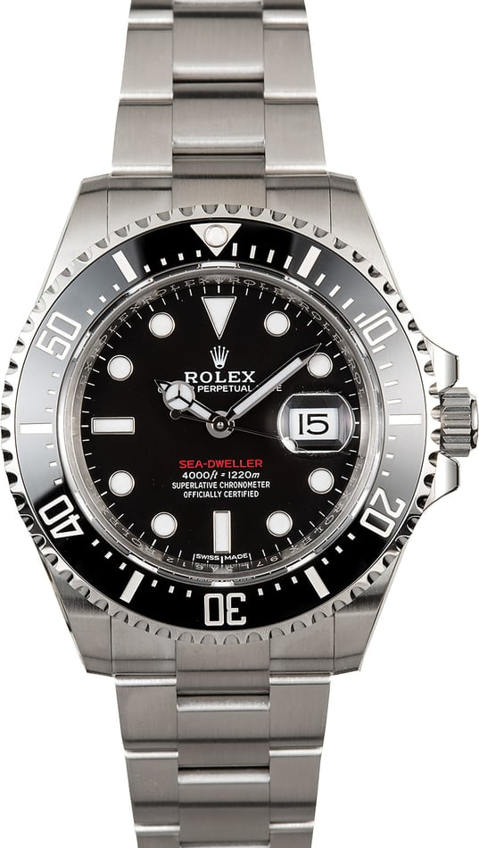 Rolex Red Sea-Dweller Lettering Model 126600