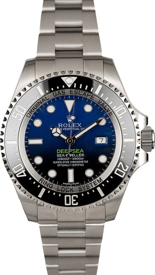 Unworn Rolex Sea-Dweller Deepsea 116660B 'James Cameron'