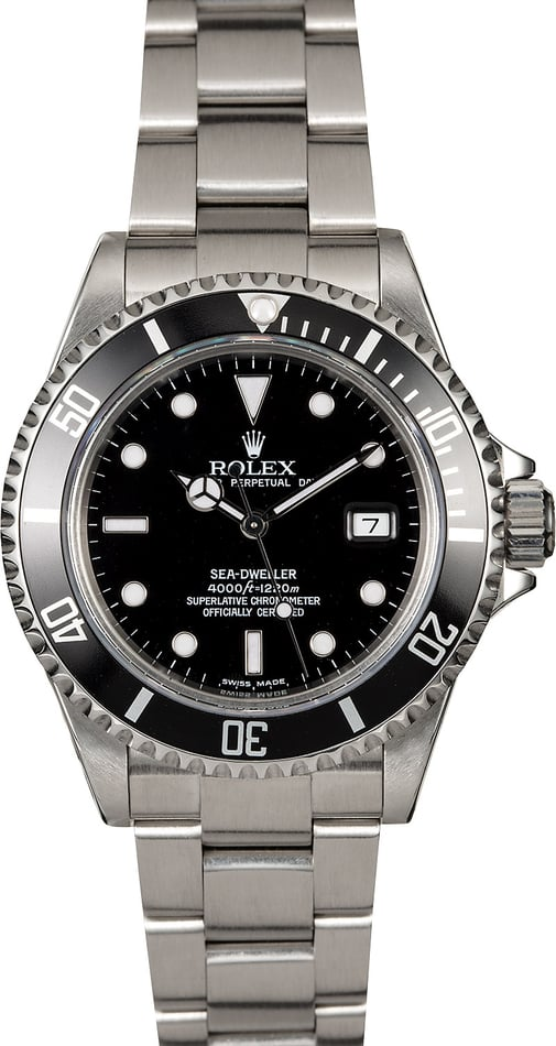 Men's Rolex Sea-Dweller 16600 Diving Watch