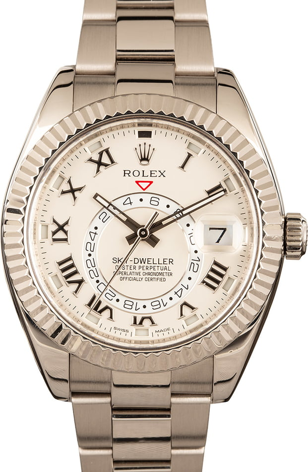Rolex Sky-Dweller 326939 White Gold Oyster Band