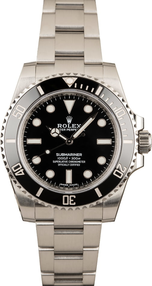 Rolex Submariner 114060 Black No Date