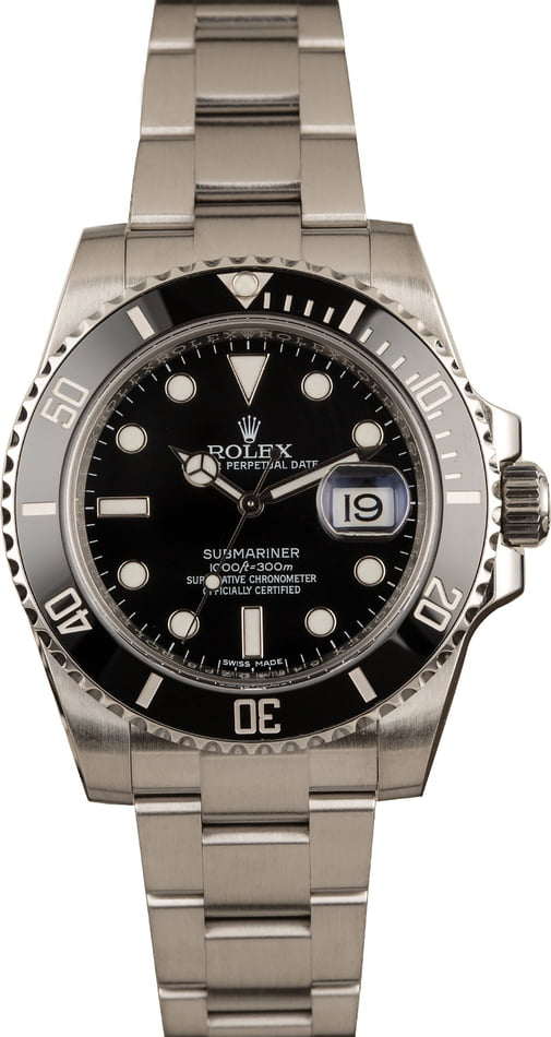 Pre-Owned Rolex Submariner 116610 Ceramic Men's Watch