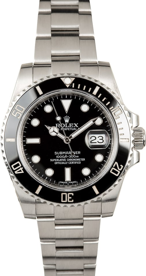 Rolex Submariner 116610 Black Cerachrom