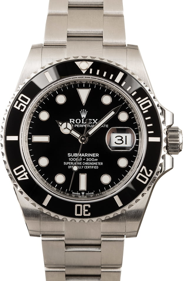Mens Rolex Submariner 126610 Ceramic
