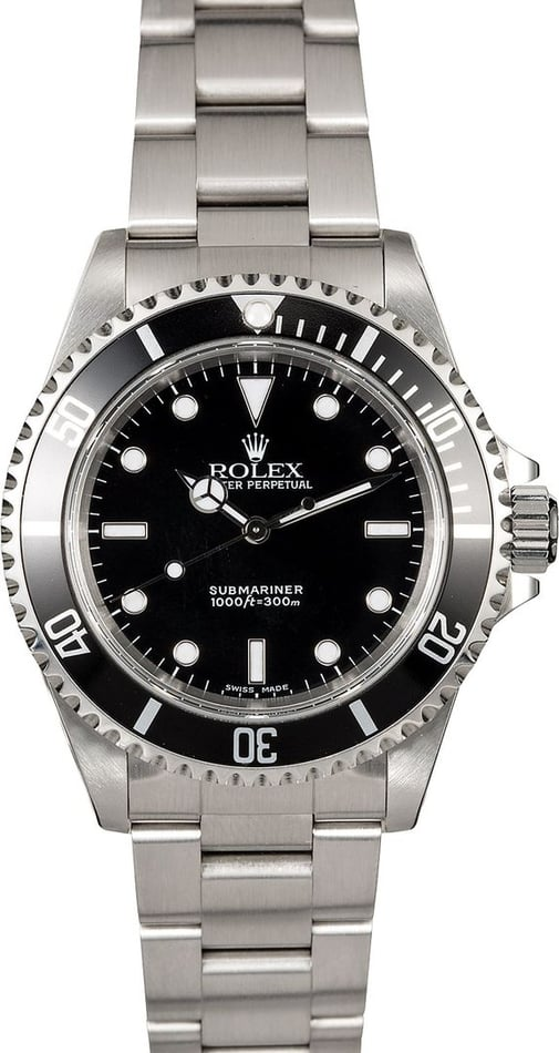 Rolex Submariner 14060 Black Dial