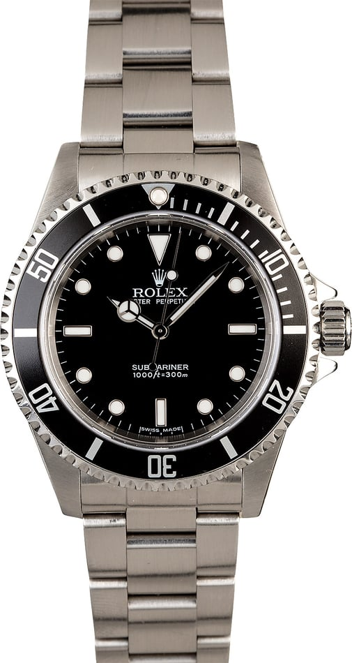 Rolex Submariner 14060 Stainless Steel Oyster