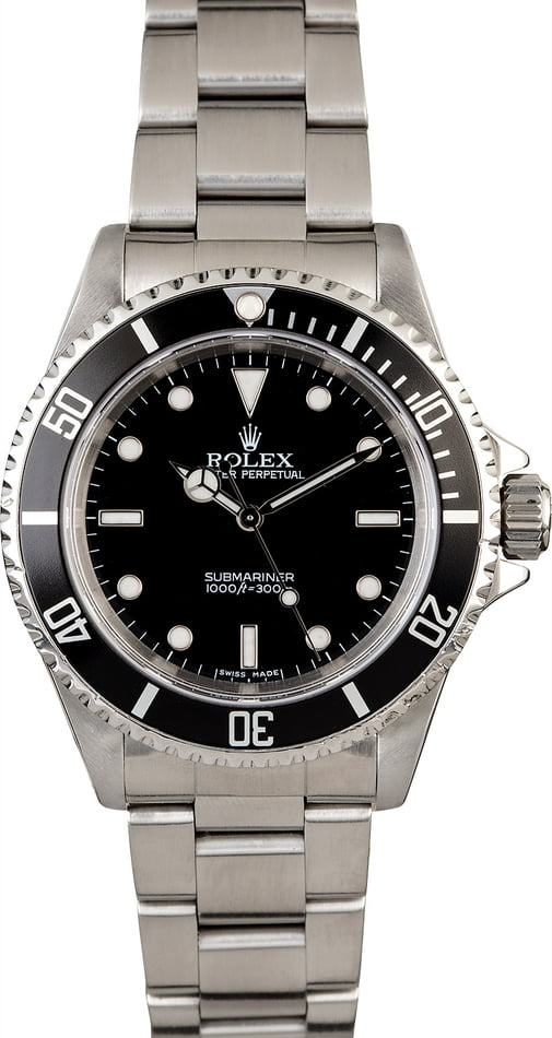PreOwned Rolex Submariner 14060 Men's Watch