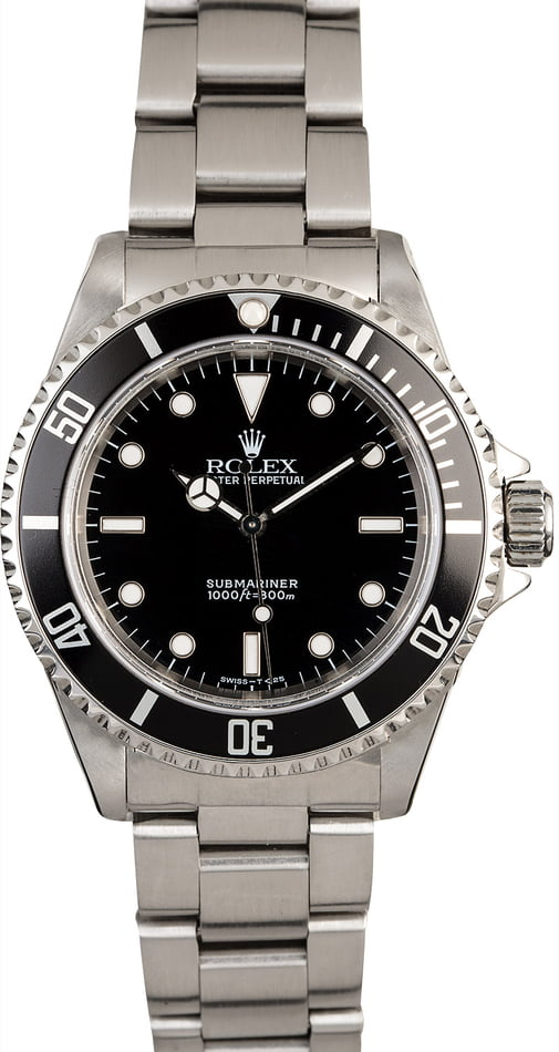 Rolex Submariner 14060 Stainless Steel Oyster Band
