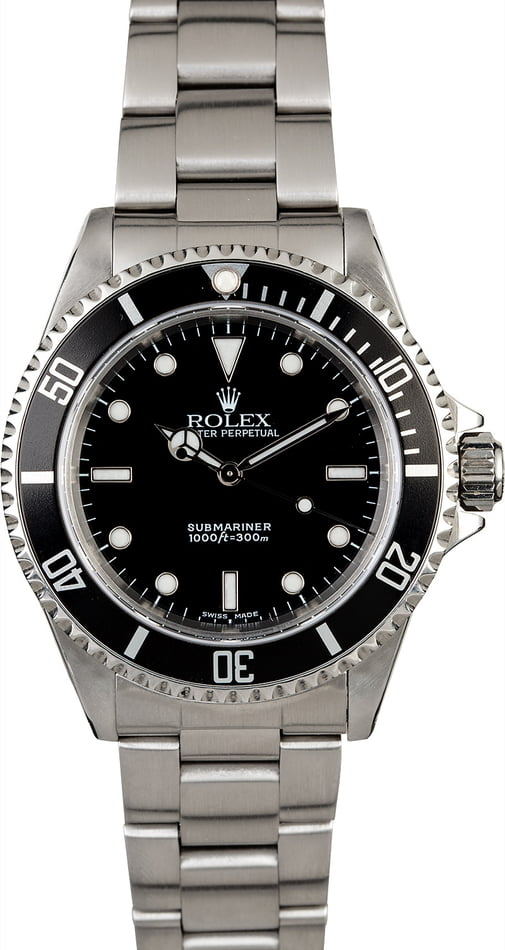 Rolex Submariner 14060 Men's Diving Watch